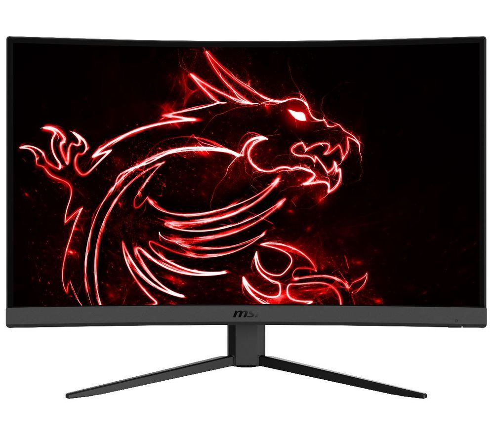 "Image of MSI Optix G27C4 Full HD 27"" Curved LED Gaming Monitor - Black, Black"