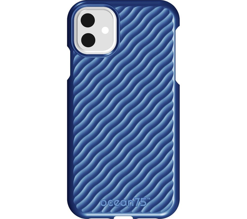 OCEAN75 Ocean Wave iPhone 11 Case - Ocean Blue