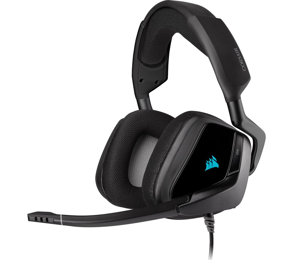 CORSAIR Void RGB Elite 7.1 Gaming Headset - Carbon Grey