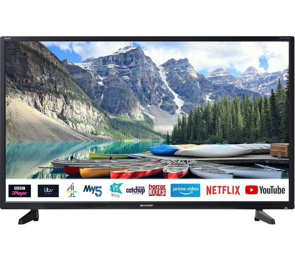 "Image of SHARP 1T-C32BC2KE1FB 32"" Smart HD Ready LED TV"