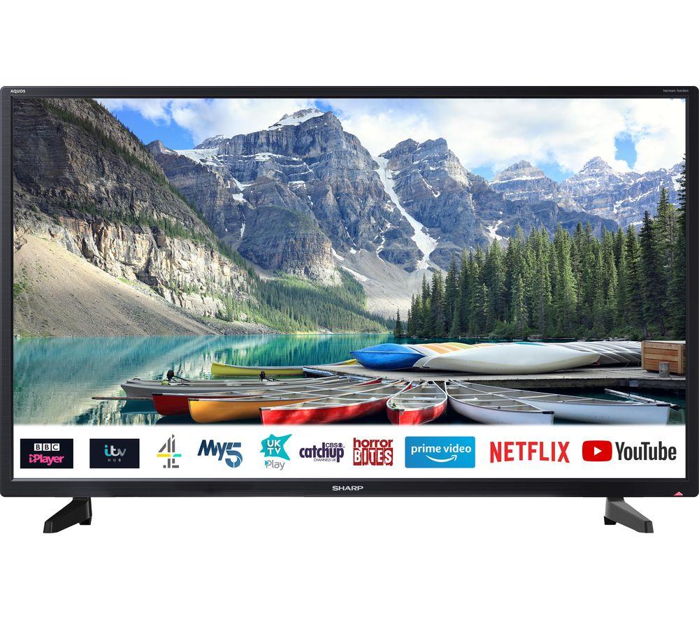 "Image of 32"" SHARP 1T-C32BC2KE1FB Smart HD Ready LED TV"