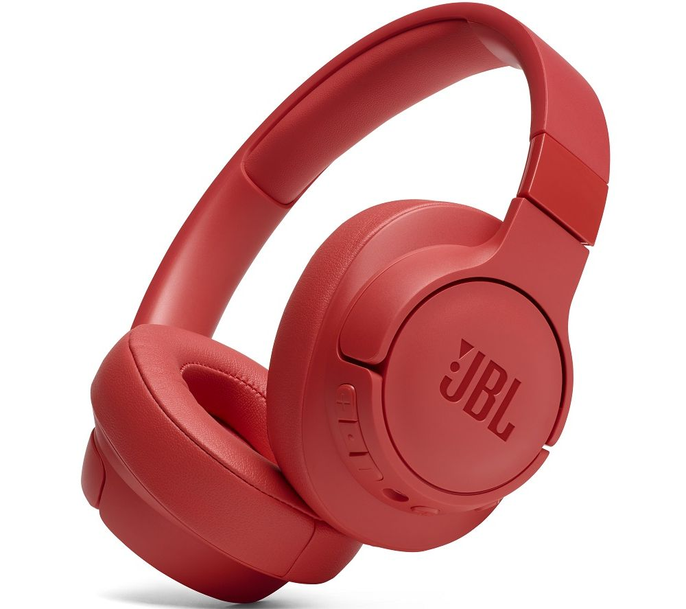 JBL Tune 750BTNC Wireless Bluetooth Noise-Cancelling Headphones - Coral