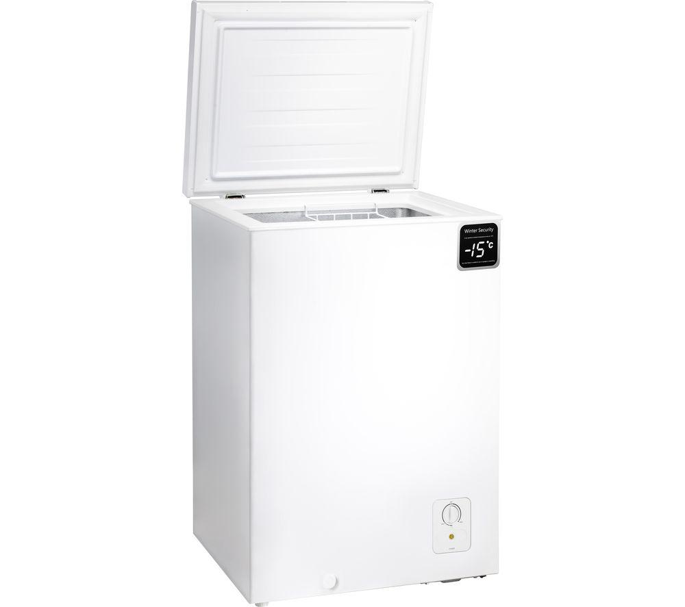 ESSENTIALS C95CFW20 Chest Freezer - White, White