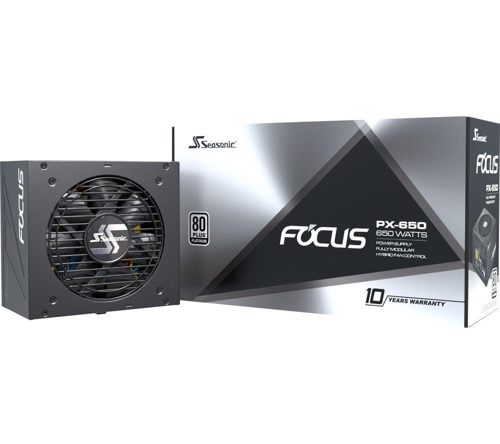 Image of SEASONIC Focus PX 650 ATX Modular PSU - 650 W