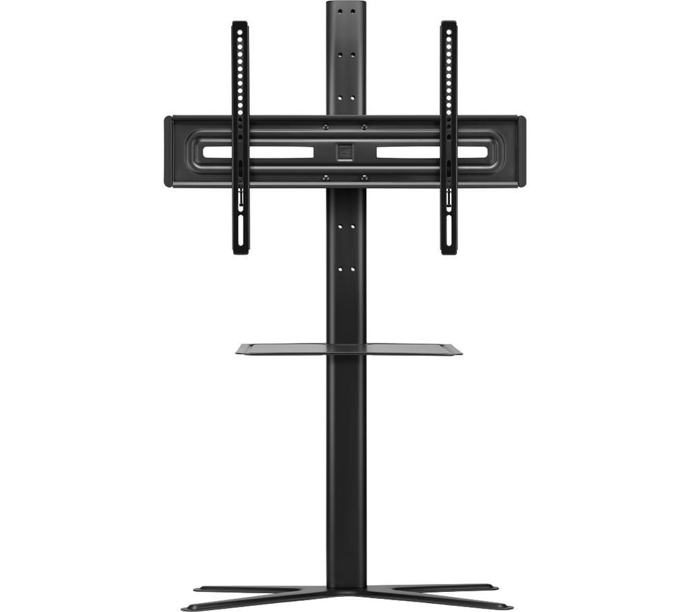 Image of ONE FOR ALL Solid WM 4672 400 mm TV Stand with Bracket - Black, Black