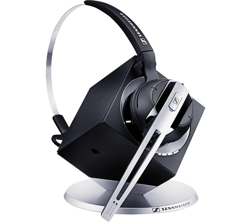 Image of SENNHEISER DW Office USB ML Wireless Headset - Black, Black
