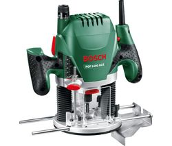 POF 1400 ACE Plunge Router - Black & Green