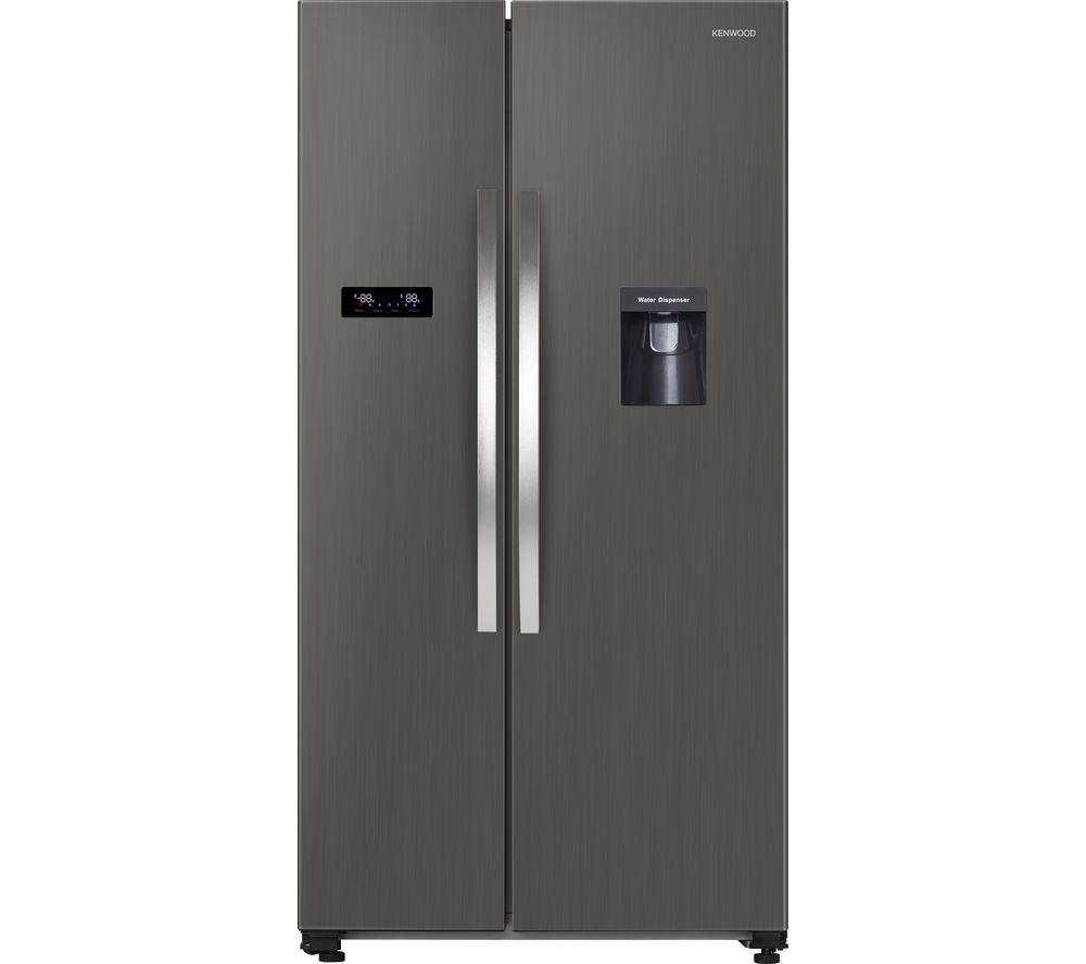 KENWOOD KSBSDX20 American-Style Fridge Freezer - Inox