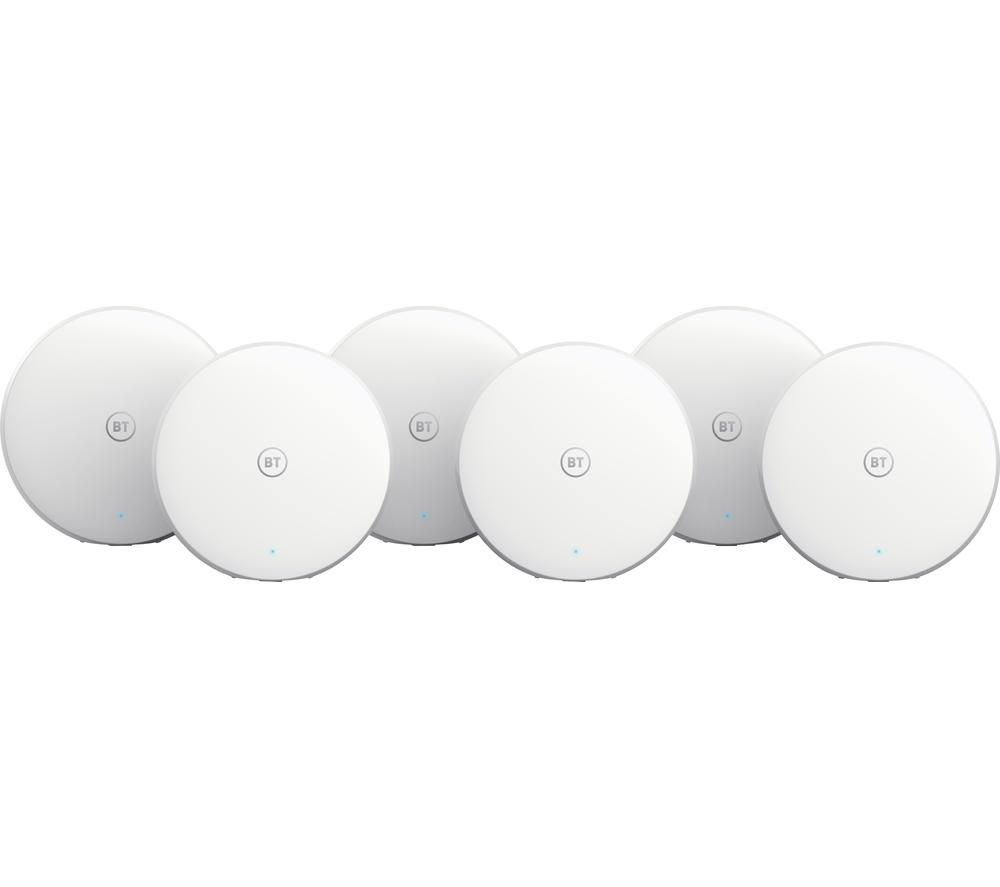 BT Mini Whole Home WiFi System - Pack of 6