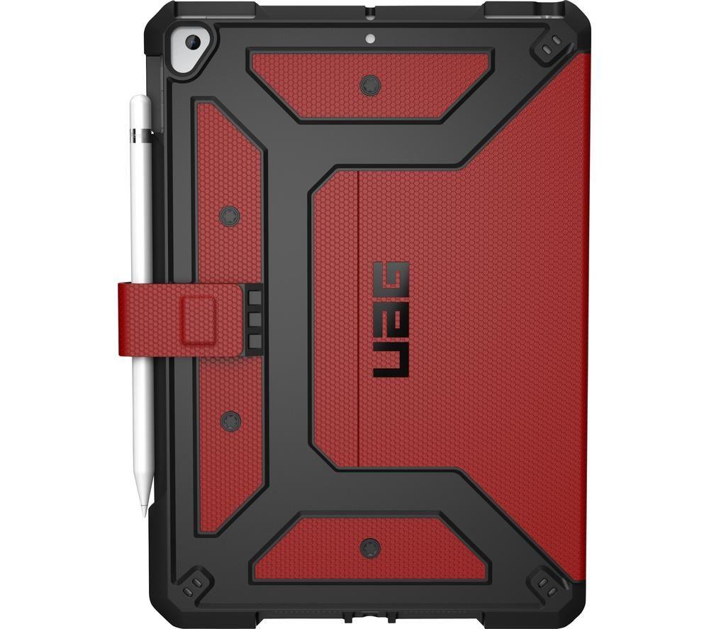 """UAG Metropolis 10.2"""" iPad Case - Magma"""