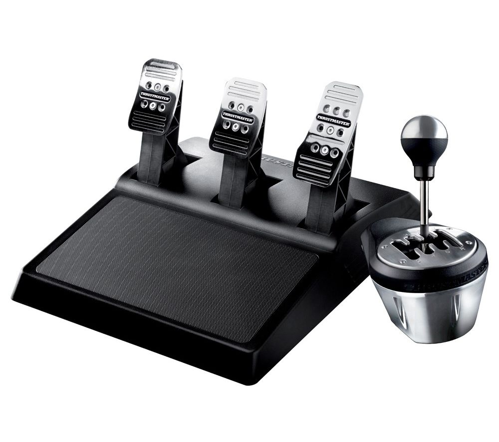 THRUSTMASTER T3PA & TH8A Pedals & Gearstick Bundle