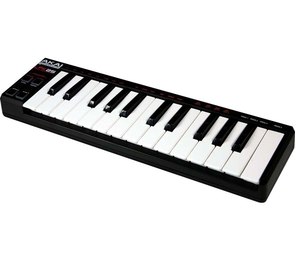 AKAI LPK25 Laptop Performance Keyboard - Black