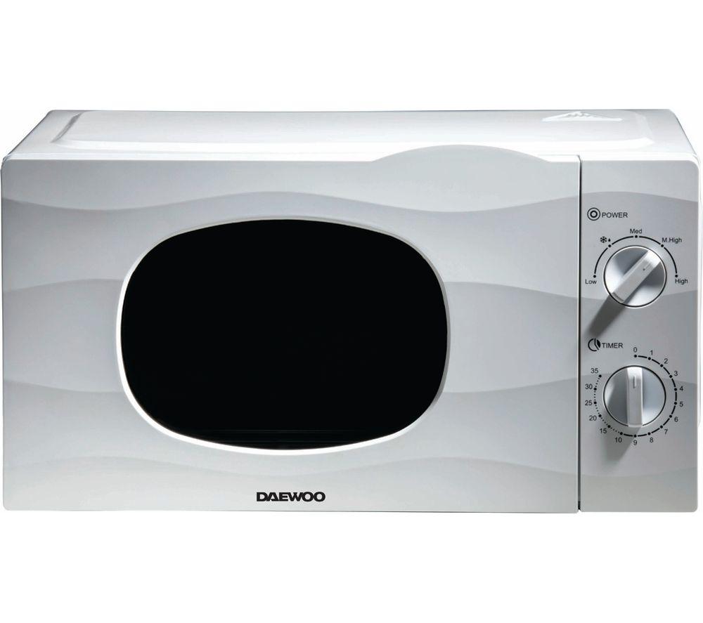 DAEWOO SDA2095 Solo Microwave - White, White