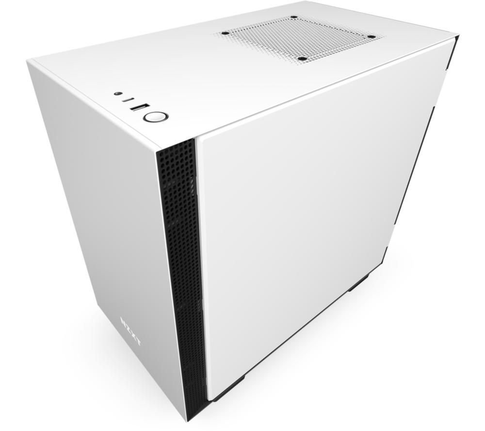 Image of NZXT H210 Mini-ITX Mini Tower PC Case - White & Black, White