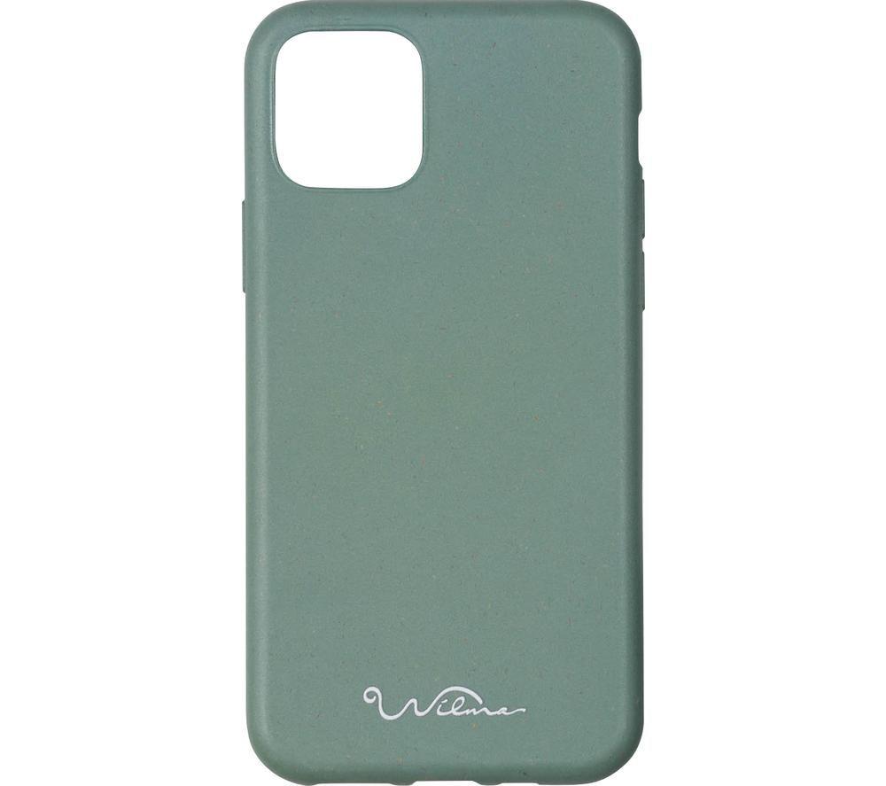 WILMA Stop Ocean Plastic Pollution iPhone 11 Case - Green, Green