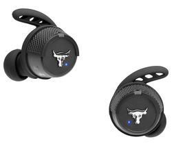 Under Armour Project Rock X Wireless Bluetooth Sports Earbuds - Black