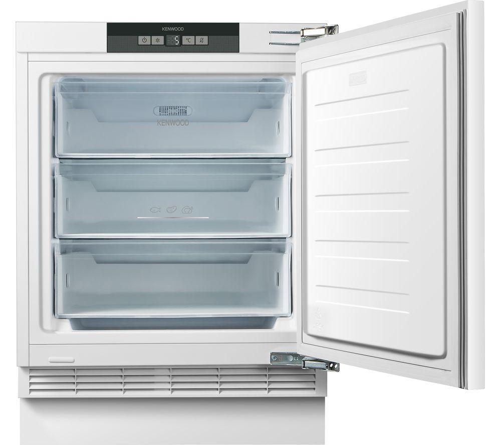 KENWOOD KIF60W21 Integrated Undercounter Freezer - Fixed Hinge