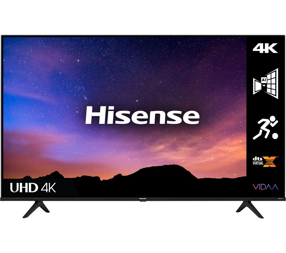 55 HISENSE 55A6GTUK  Smart 4K Ultra HD HDR LED TV with Alexa & Google Assistant