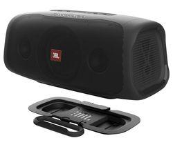BassPro Go Car Subwoofer & Bluetooth Portable Speaker - Black