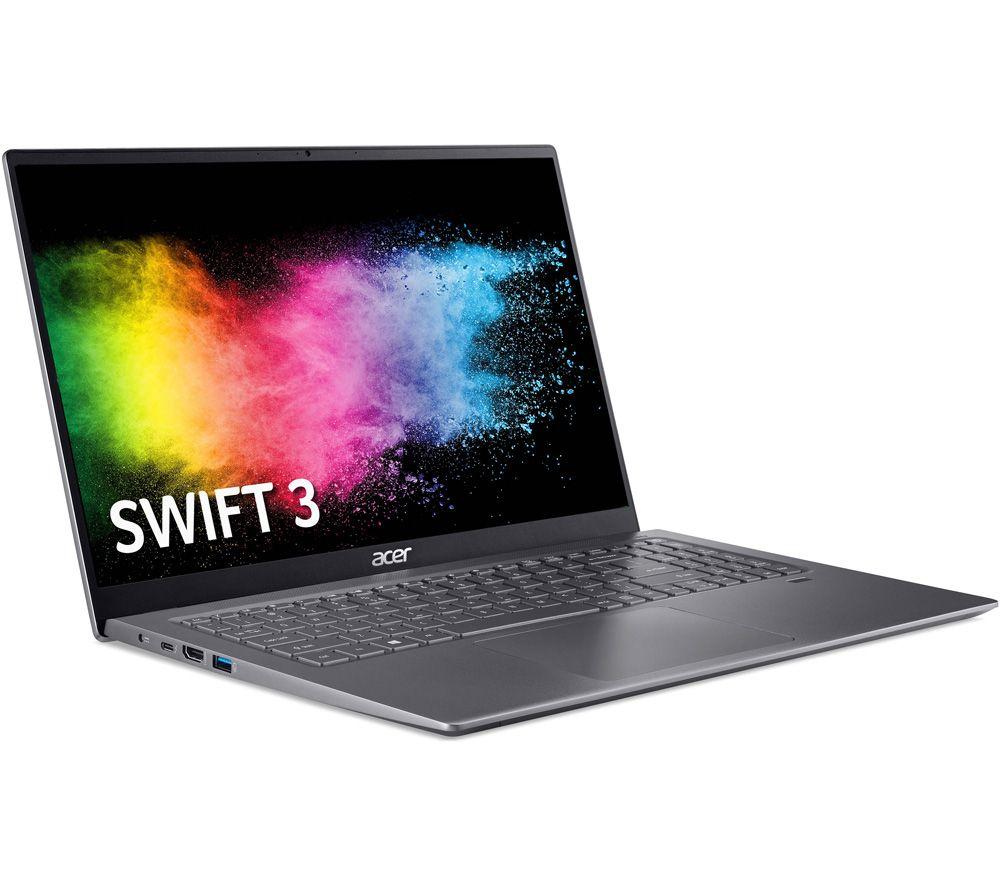 "Image of ACER Swift 3 16.1"" Laptop - Intel®Core™ i5, 1 TB SSD, Grey, Grey"