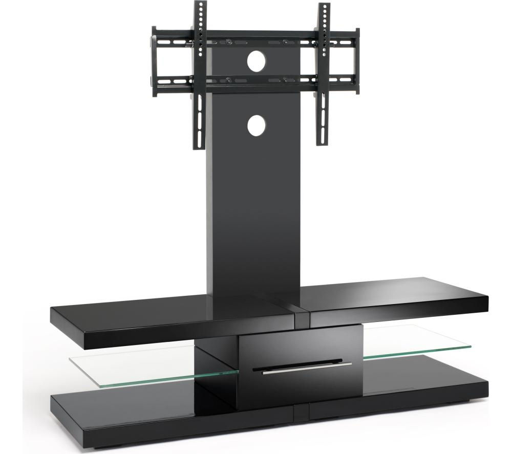 techlink echo ec130tvb tv stand with bracket deals pc world. Black Bedroom Furniture Sets. Home Design Ideas