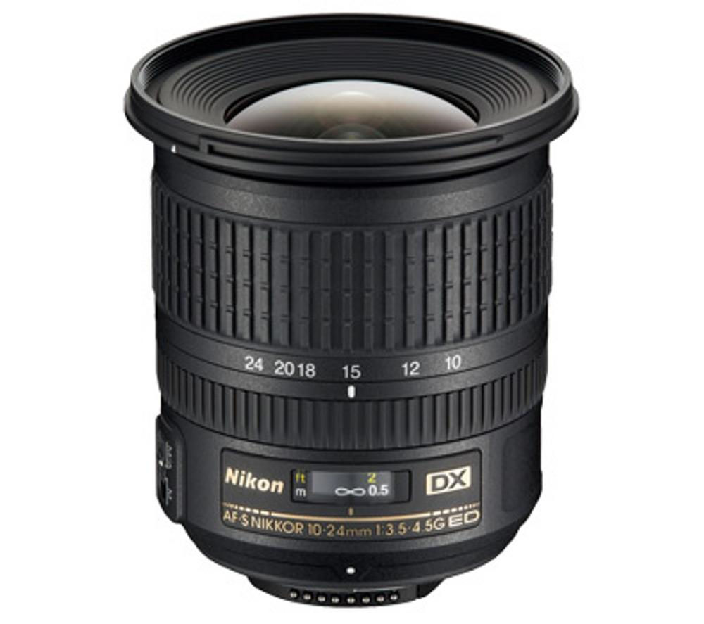 Compare cheap offers & prices of Nikon AF-S DX NIKKOR 10-24 mm f-3.5-4.5 G Wide-angle Zoom Lens manufactured by Nikon