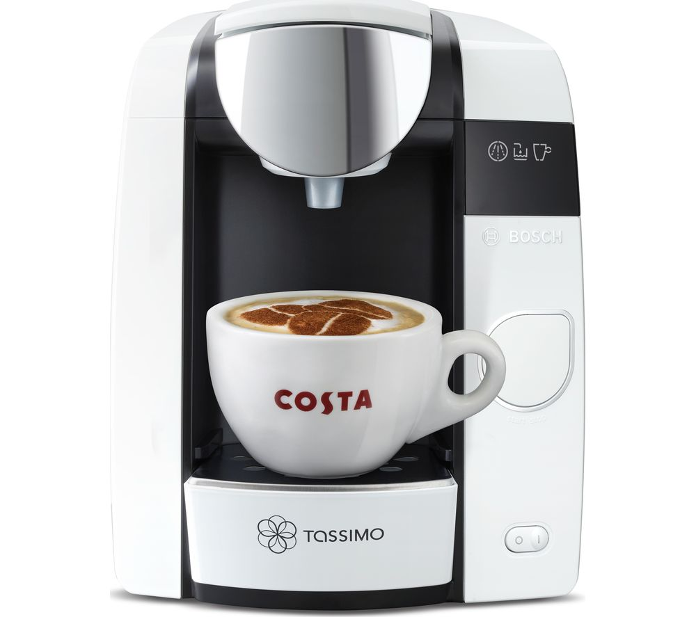 buy tassimo by bosch joy coffee machine white free delivery currys. Black Bedroom Furniture Sets. Home Design Ideas