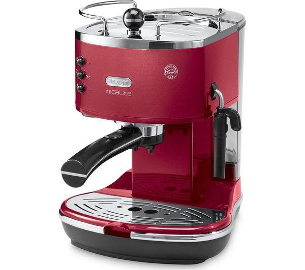 Buy DELONGHI Icona Micalite ECOM 311.R Coffee Machine ...