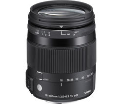 18-200 mm f/3.5-6.3 DC Macro OS HSM C Telephoto Zoom Lens - for Nikon