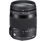 SIGMA 18-200 mm f/3.5-6.3 DC Macro OS HSM C Telephoto Zoom Lens - for Nikon