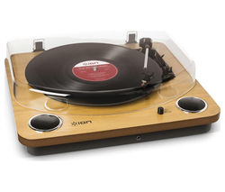 Max LP Belt Drive Turntable - Wood