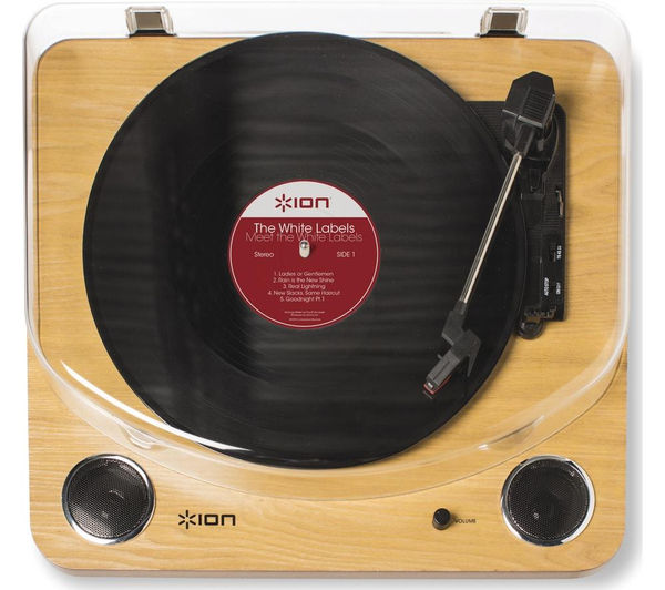 Buy Ion Max Lp Turntable Wood Free Delivery Currys