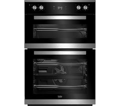 BEKO Pro BXDF25300X Electric Double Oven - Stainless Steel