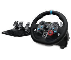LOGITECH Driving Force G29 PlayStation & PC Racing Wheel & Pedals