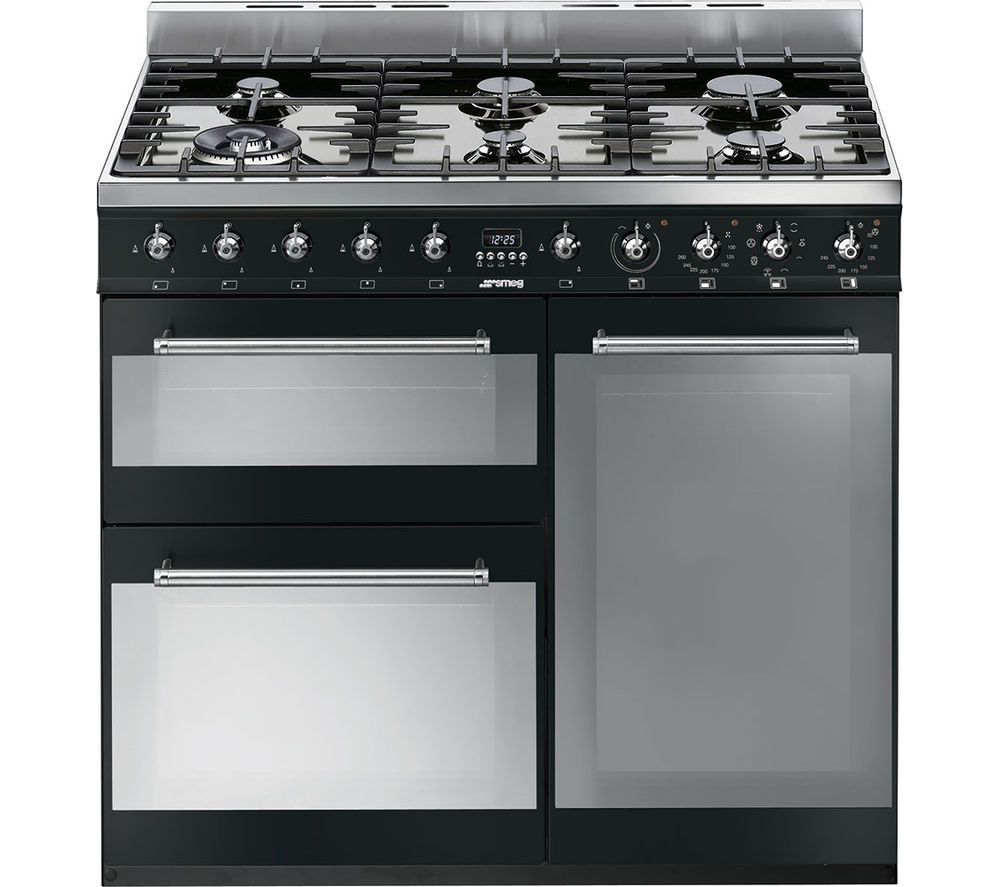 Compare prices for Smeg Symphony 90cm Dual Fuel Range Cooker