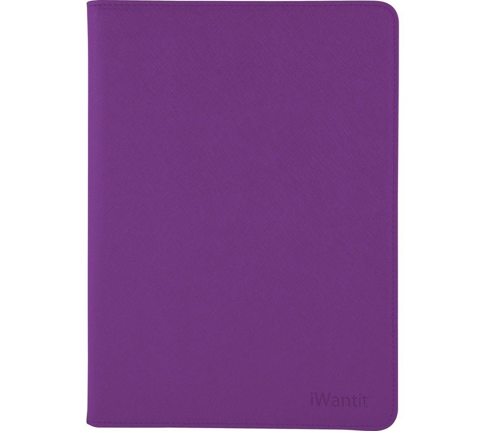 IWANTIT IIM4PP16 iPad mini 4 Folio Case - Purple