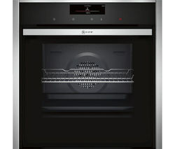 NEFF B58CT68N0B Slide & Hide Electric Oven - Stainless Steel