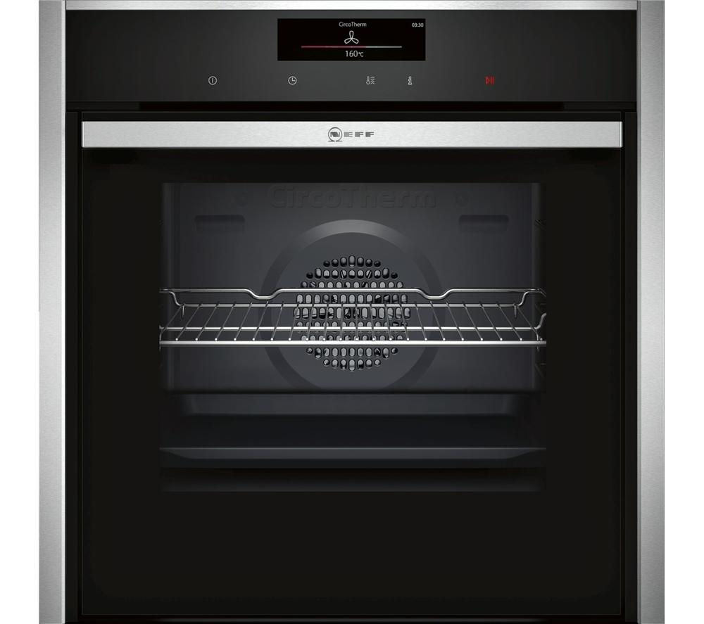 NEFF B58CT68N0B Slide and Hide Electric Oven - Stainless Steel