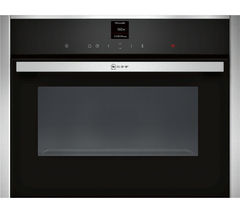 NEFF C17UR02N0B Built-in Solo Microwave - Stainless Steel