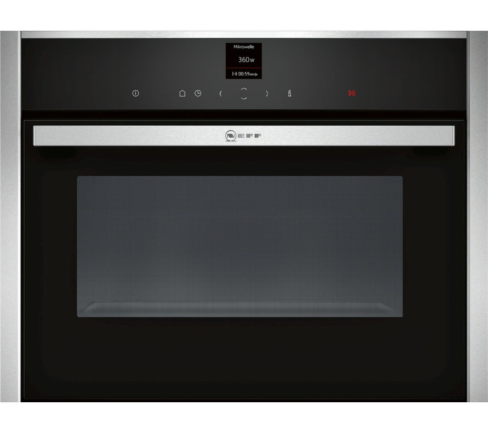 NEFF N70 C17UR02N0B Built-in Solo Microwave - Stainless Steel