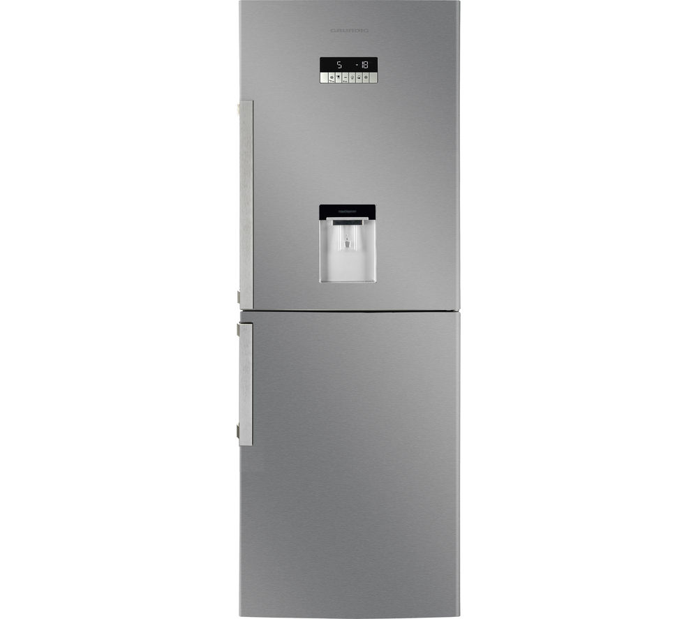 Cheapest price of Grundig GKN16910DX Fridge Freezer Stainless Steel in new is £599.00