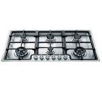 SMEG Classic PGF96 Gas Hob - Stainless Steel