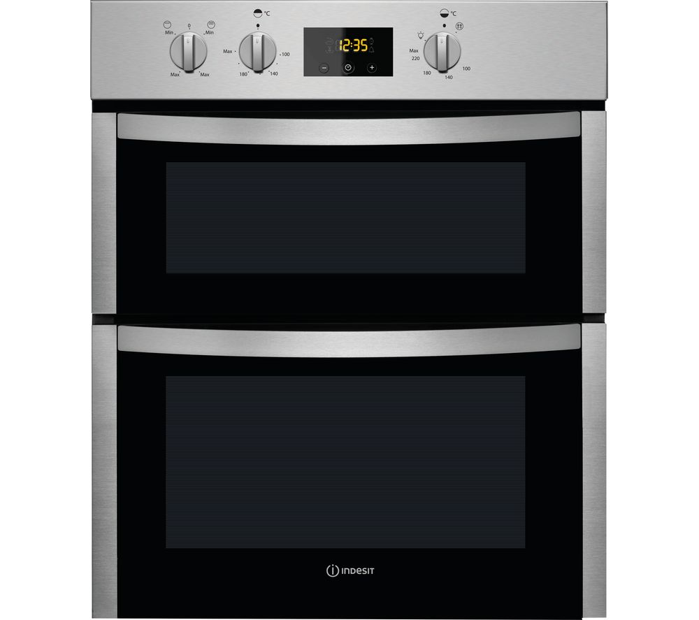 Compare prices for Indesit Aria DDU 5340 C IX Electric Double Oven