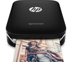 HP Sprocket Mobile Photo Printer - Black