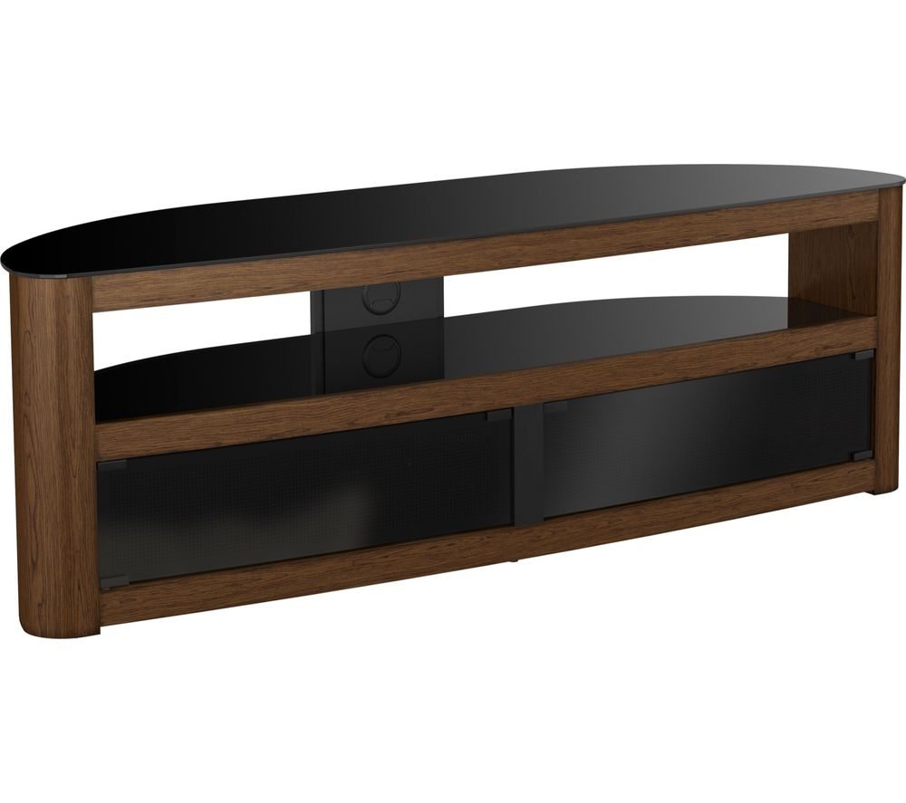 AVF Burghley 1500 TV Stand - Walnut