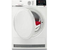 AEG ProSense T6DBG820N Condenser Tumble Dryer - White