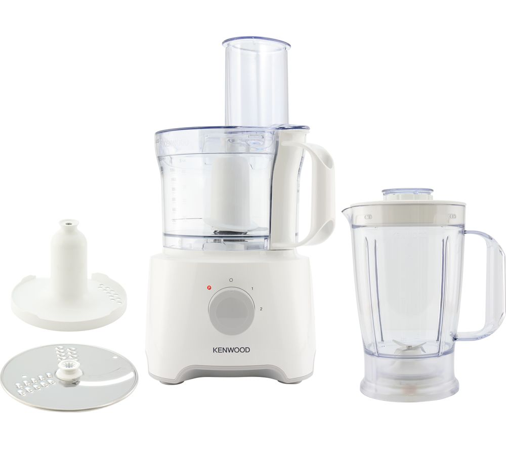 KENWOOD MultiPro Compact FDP301WH Food Processor - White