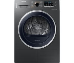 SAMSUNG DV80M5010QX/EU 8 kg Heat Pump Tumble Dryer - Graphite