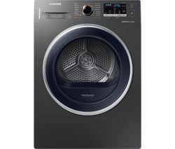 DV80M5010QX/EU 8 kg Heat Pump Tumble Dryer - Graphite