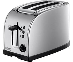 RUSSELL HOBBS Texas 18096 2-Slice Toaster - Stainless Steel